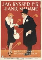 Ich küsse Ihre Hand, Madame - Swedish Movie Poster (xs thumbnail)