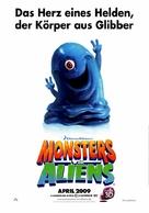 Monsters vs. Aliens - German Movie Poster (xs thumbnail)