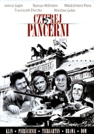"""Czterej pancerni i pies"" - Polish DVD movie cover (xs thumbnail)"