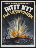 All Quiet on the Western Front - Danish Movie Poster (xs thumbnail)