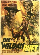 The Yearling - German Movie Poster (xs thumbnail)