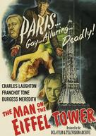 The Man on the Eiffel Tower - DVD cover (xs thumbnail)