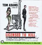 Licensed to Kill - British Movie Poster (xs thumbnail)
