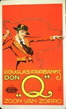 Don Q Son of Zorro - Dutch Movie Poster (xs thumbnail)