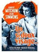 Angel Face - French Movie Poster (xs thumbnail)