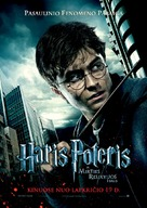 Harry Potter and the Deathly Hallows: Part I - Lithuanian Movie Poster (xs thumbnail)