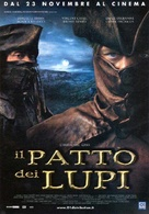 Le pacte des loups - Italian Movie Poster (xs thumbnail)