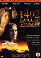 1492: Conquest of Paradise - British DVD cover (xs thumbnail)