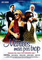 Mariées mais pas trop - French DVD cover (xs thumbnail)