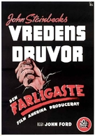 The Grapes of Wrath - Swedish Movie Poster (xs thumbnail)