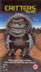 Critters - British VHS cover (xs thumbnail)