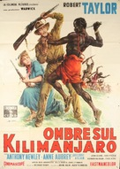 Killers of Kilimanjaro - Italian Movie Poster (xs thumbnail)