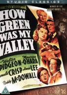 How Green Was My Valley - British DVD movie cover (xs thumbnail)