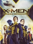 X-Men: First Class - Argentinian DVD movie cover (xs thumbnail)