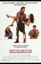 Don't Tell Her It's Me - Movie Poster (xs thumbnail)