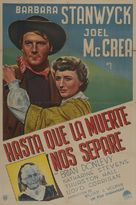 The Great Man's Lady - Argentinian Movie Poster (xs thumbnail)