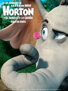 Horton Hears a Who! - Spanish Movie Poster (xs thumbnail)