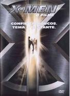 X-Men - Brazilian DVD movie cover (xs thumbnail)