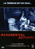Paranormal Activity - French DVD cover (xs thumbnail)
