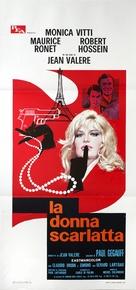 La femme écarlate - Italian Movie Poster (xs thumbnail)