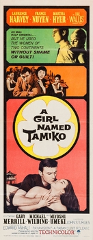 A Girl Named Tamiko - Movie Poster (xs thumbnail)
