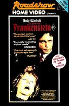 Flesh for Frankenstein - Australian DVD cover (xs thumbnail)