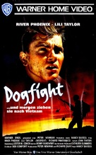 Dogfight - German VHS movie cover (xs thumbnail)