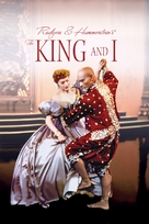 The King and I - DVD cover (xs thumbnail)