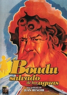 Boudu sauvé des eaux - Spanish Movie Cover (xs thumbnail)