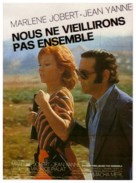 Nous ne vieillirons pas ensemble - French Movie Poster (xs thumbnail)