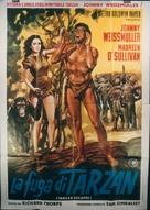 Tarzan Escapes - Italian Movie Poster (xs thumbnail)