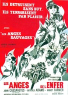 Devil's Angels - French Movie Poster (xs thumbnail)