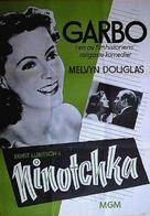 Ninotchka - Swedish Movie Poster (xs thumbnail)