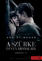Fifty Shades of Grey - Hungarian Movie Poster (xs thumbnail)