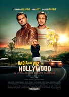 Once Upon a Time in Hollywood - Argentinian Movie Poster (xs thumbnail)