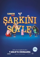 Sing - Turkish Movie Poster (xs thumbnail)