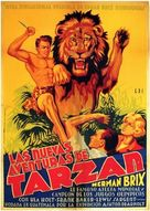 The New Adventures of Tarzan - Spanish Movie Poster (xs thumbnail)
