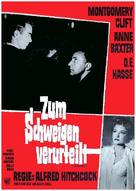 I Confess - German Movie Poster (xs thumbnail)