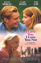 I Love You, I Love You Not - Movie Poster (xs thumbnail)
