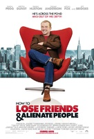 How to Lose Friends & Alienate People - British Movie Poster (xs thumbnail)