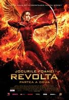 The Hunger Games: Mockingjay - Part 2 - Romanian Movie Poster (xs thumbnail)