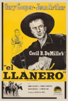 The Plainsman - Argentinian Re-release movie poster (xs thumbnail)