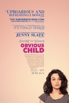 Obvious Child - Movie Poster (xs thumbnail)