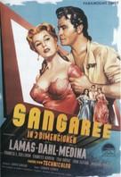 Sangaree - German Movie Poster (xs thumbnail)