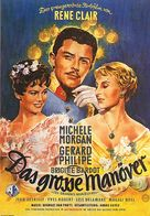 Grandes manoeuvres, Les - German Movie Poster (xs thumbnail)