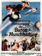 Münchhausen - French Movie Poster (xs thumbnail)