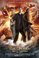 Percy Jackson: Sea of Monsters - British Movie Poster (xs thumbnail)