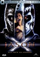Jason X - Canadian DVD movie cover (xs thumbnail)