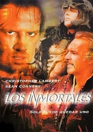 Highlander - Spanish DVD cover (xs thumbnail)