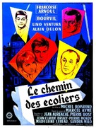 Le chemin des écoliers - French Movie Poster (xs thumbnail)